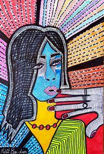 Portrait art israeli artist