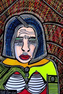 Unique custom portrait Mirit Ben-Nun
