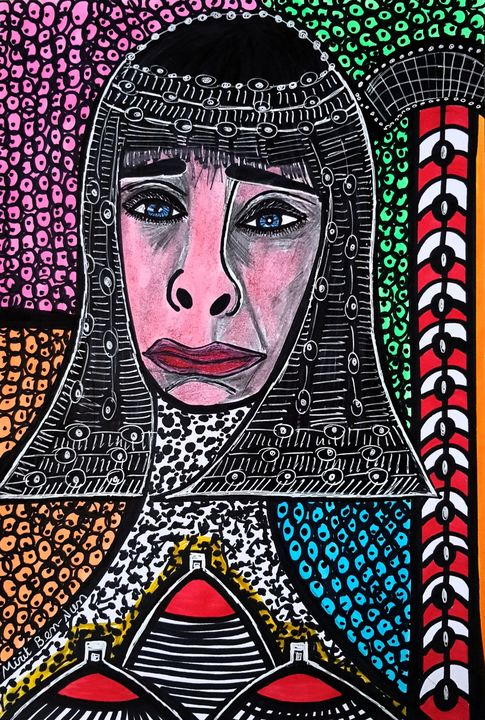 Custom-made portraits israeli art - Mirit Ben-Nun