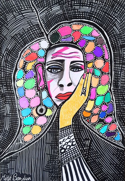 Custom-made portraits from Israel - Mirit Ben-Nun