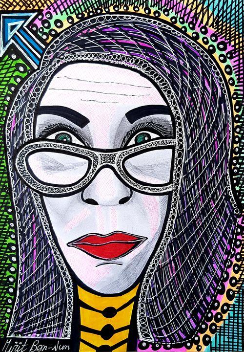 Unique custom portrait Mirit Ben-Nun - Mirit Ben-Nun