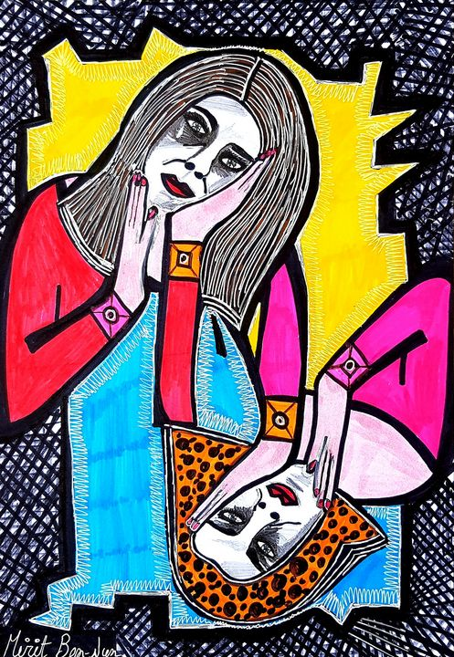 Israeli artist original paintings - Mirit Ben-Nun