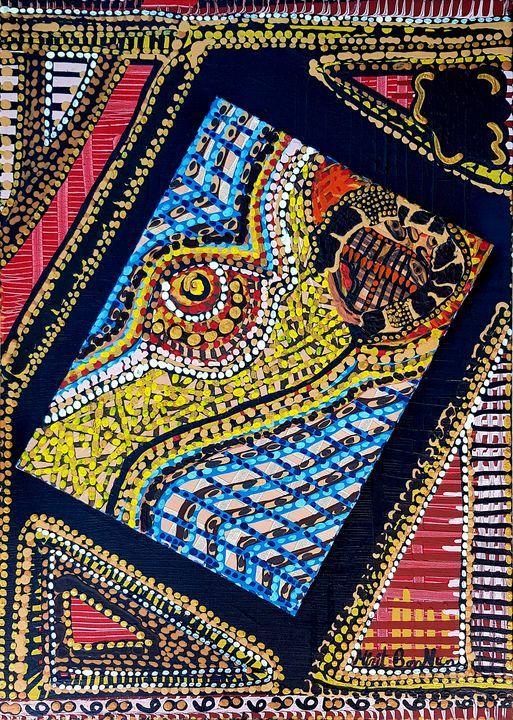 Jewish female acrylic paintings - Mirit Ben-Nun
