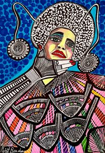 Colorful art from Israel