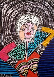 Colorful art Mirit Ben-Nun