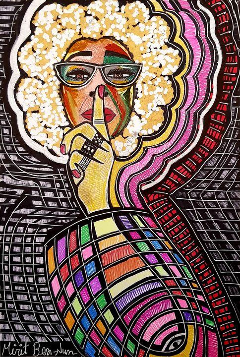 Art Israel Ben-Nun Mirit artist - Mirit Ben-Nun