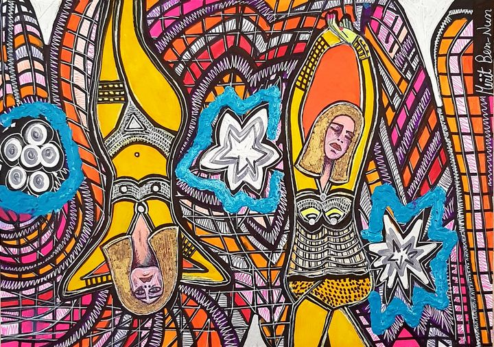 Pop Art modern artist from Israel - Mirit Ben-Nun