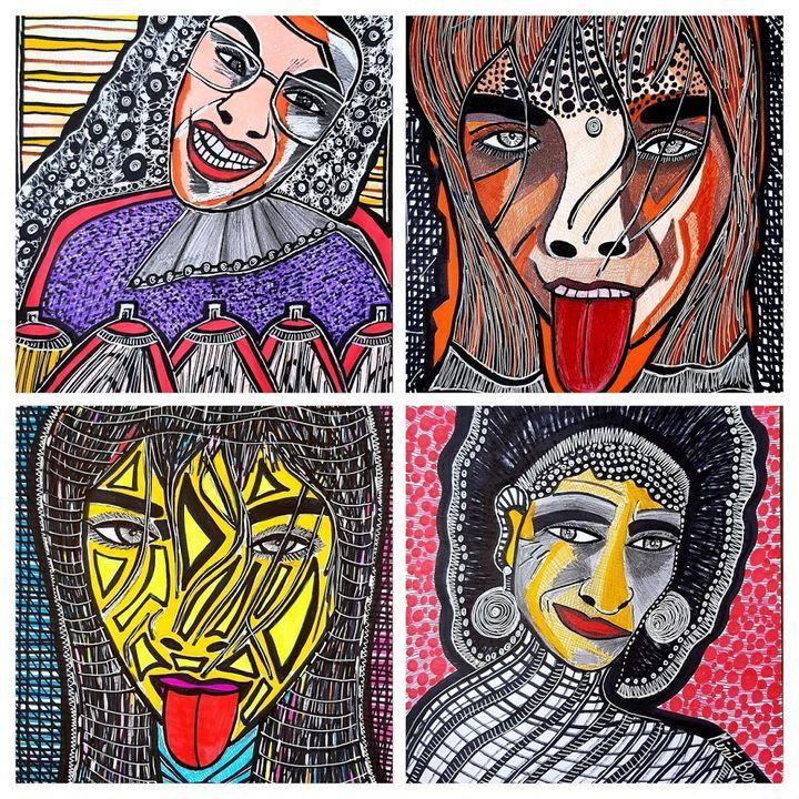 Visionary art contemporay artist - Mirit Ben-Nun