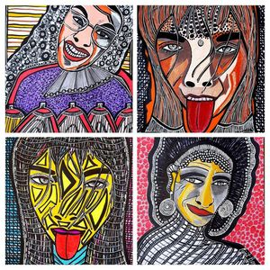 Visionary art contemporay artist