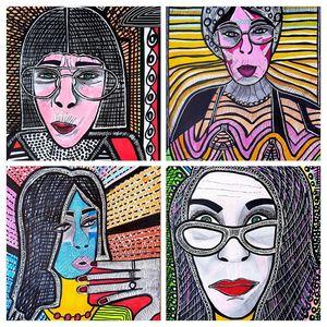 Visionary art modern artist israel