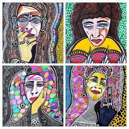 Self-taught israeli artist