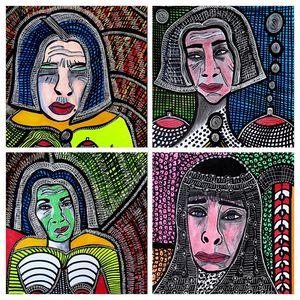 Autodidactic israeli artist