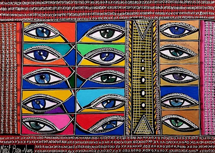 Israeli artist woman painter - Mirit Ben-Nun