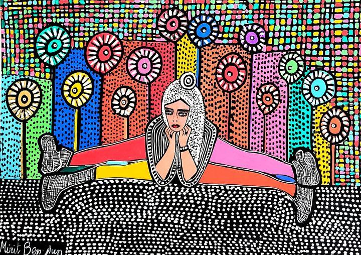 Artists from Israel original painter - Mirit Ben-Nun