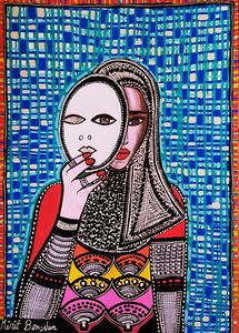 Feminist art paintings israel