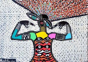 Feminist art images from Israel