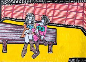 New paintings Israel Mirit Ben-Nun