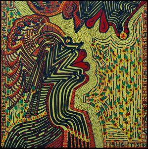 Pintora israeli acrilico multicolor
