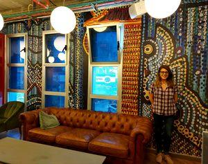 Wall art paintings Mirit Ben-Nun
