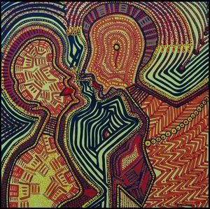 Arte de punto artista latina israeli