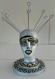 Art sculptures by Israeli artist