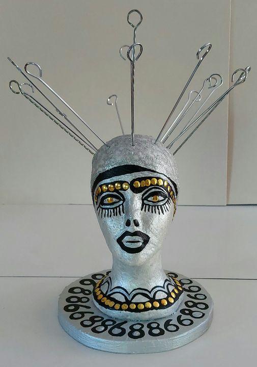 Art sculptures by Israeli artist - Mirit Ben-Nun