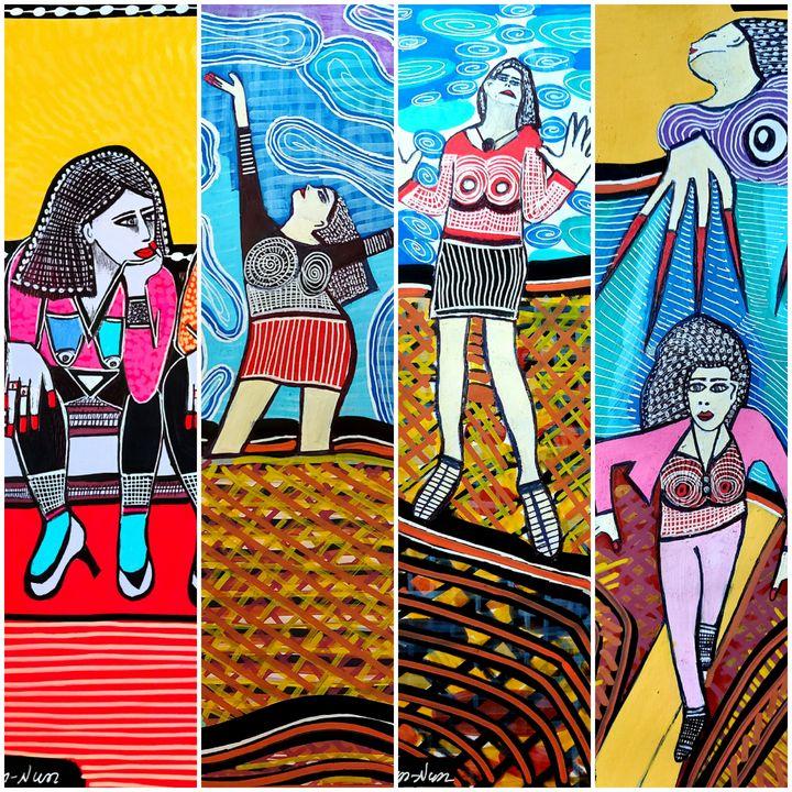 Realistic artwork by Mirit Ben-Nun - Mirit Ben-Nun