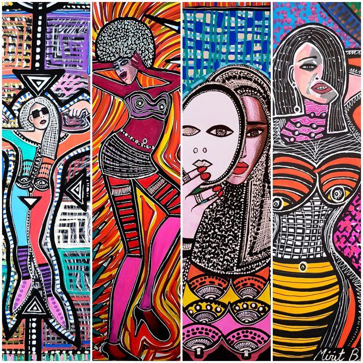Feminist israeli art Mirit Ben-Nun - Mirit Ben-Nun