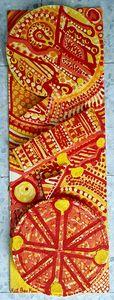 Arte abstracto artista latina israel