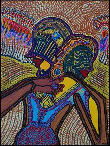 Arte de Israel artista puntillista
