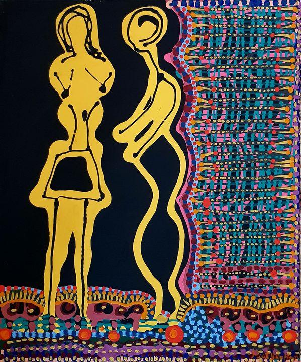 Original Jewish modern artist - Mirit Ben-Nun