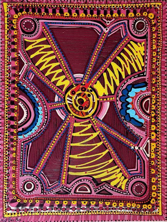 Ethnic modern artist Mirit Ben-Nun - Mirit Ben-Nun