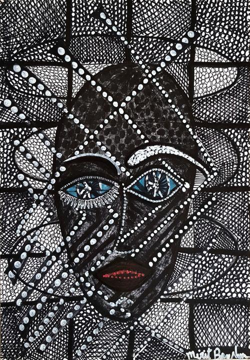 Venta Dibujo moderno pintora Israel - Mirit Ben-Nun