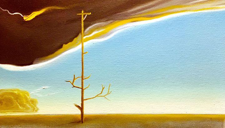 Dawn of natural energy - Jackson's Lake