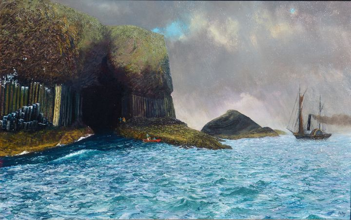 Staffa, 7th of August 1829 - Painterpete