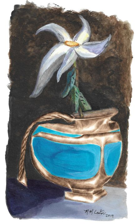 Flower and Vase - MM Coston