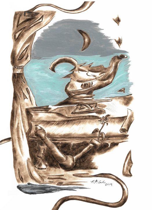 Still Life Tea Kettle - MM Coston