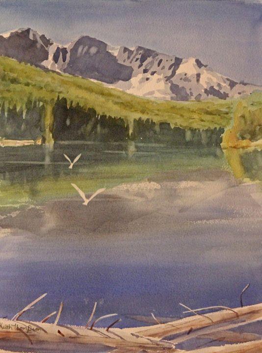 Mountain Lake - keiththompsonart
