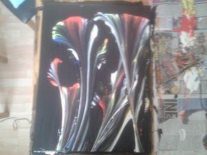 Acrylic Painting - martins