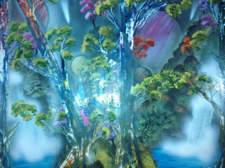 Fairy and waterfalls - J & A's Ideas