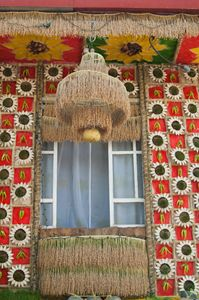 Pahiyas Decorated House Window