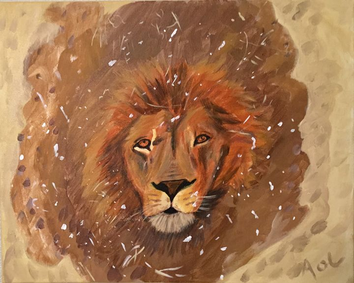 Lion, No Tigers or Bears...Oh My! - Art Of Lonnie
