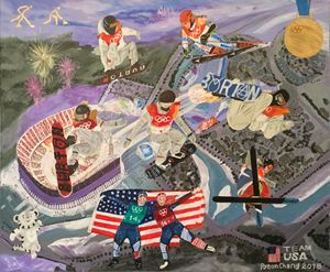 Inspiration of Olympic PyeongChang' - Art Of Lonnie