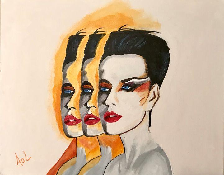 """Triple Threat"" - Art Of Lonnie"