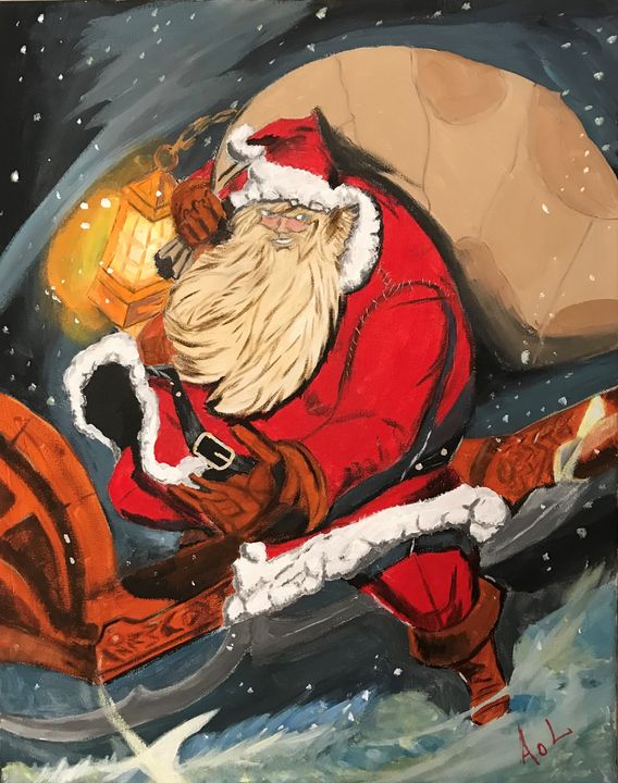Bad Ass Santa - Art Of Lonnie