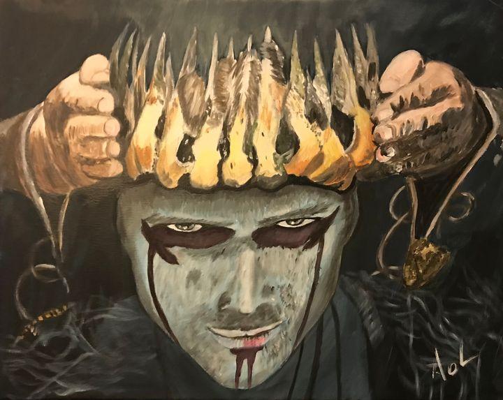 """Vikings"" Ragnar Lodbrok - Art Of Lonnie"