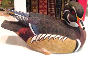 Fine Wood Duck Needs New Home!