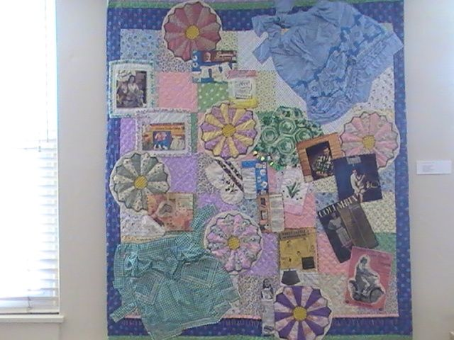 """""""In My Day We. . . """" - Art Quilts and Beaded Representations"""