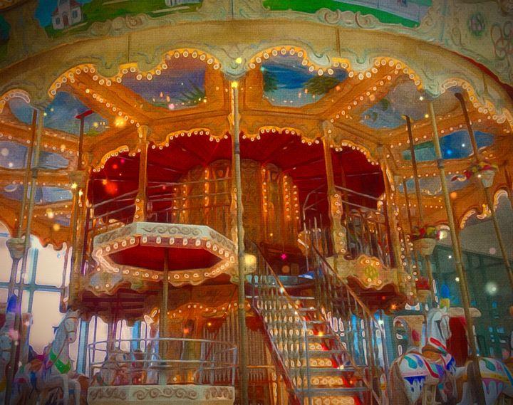 Carousel - Lightworker Art