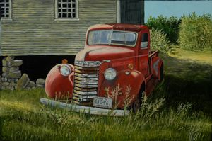 """""""OLD RED TRUCK"""""""